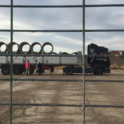 Fabricación y suministro de tubos de hormigón en Extremadura