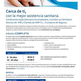 Seguro Salud Adeslas Completa SIN COPAGOS.