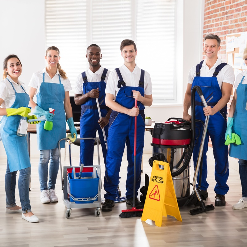 Limpieza: Servicios integrales de DSC Servicios