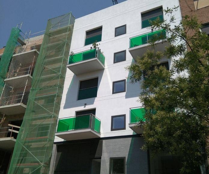 Rehabilitación de fachadas con andamios