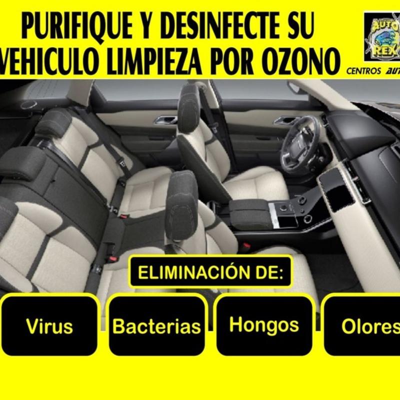 Limpieza vehículos por Ozono: Servicios de Auto - Rex Beniparrell
