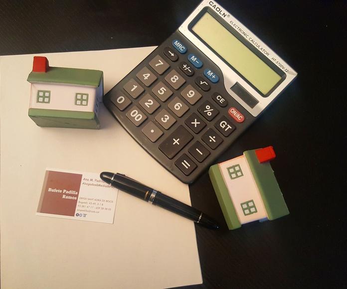 Reclamación gastos constitución hipoteca
