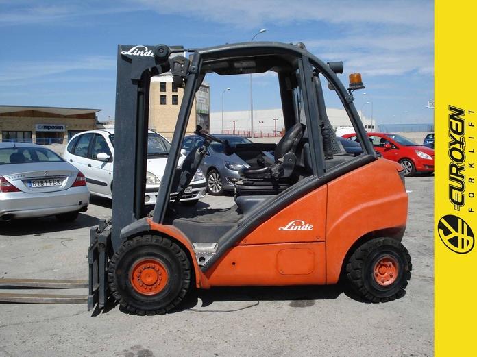 Carretilla diesel LINDE Nº 6008: Productos y servicios de Comercial Euroyen, S. L.