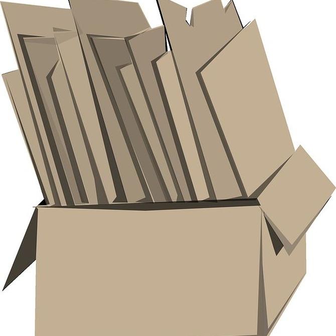 Ventajas de las cajas de cartón