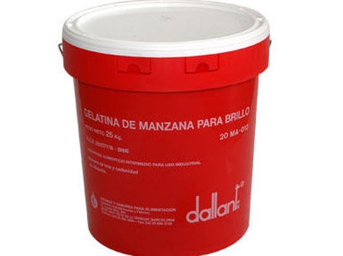 gelatina de manzana. distribucion a hosteleria. Bayolac