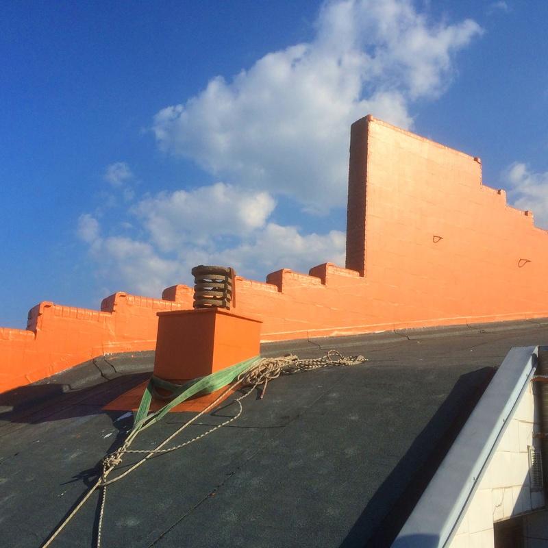 Reparación de terrazas, muros, chimeneas, limas, cubiertas, tejados, aleros Santander.