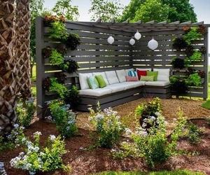 Rinconera de jardín
