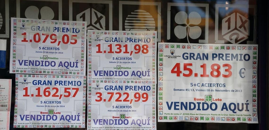 Ven a comprar tu décimo de lotería a Labastida