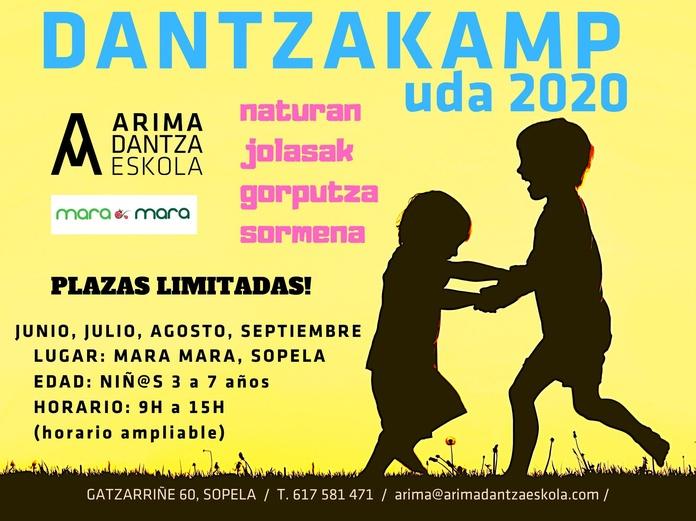 DANTZAKAMP UDA 2020 ARIMA DANTZA ESKOLA