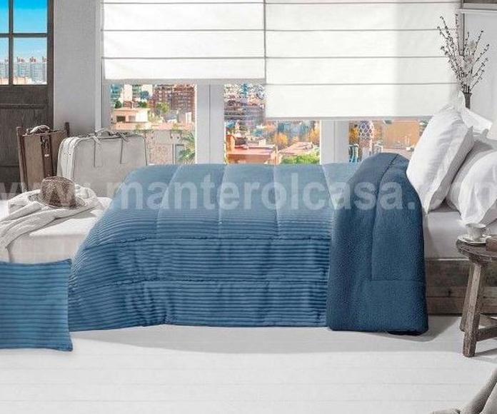 Decoración textil cama