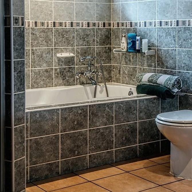 La limpieza de las tuberías del baño