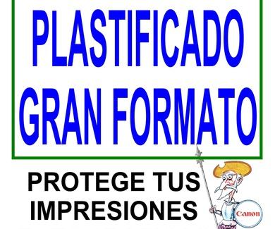 PLATIFICADOS GRAN FORMATO