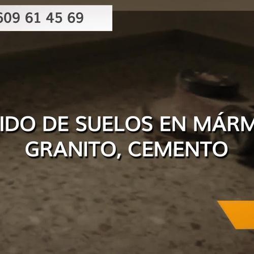 Pulido y abrillantado de mármol Santa Cruz de Tenerife