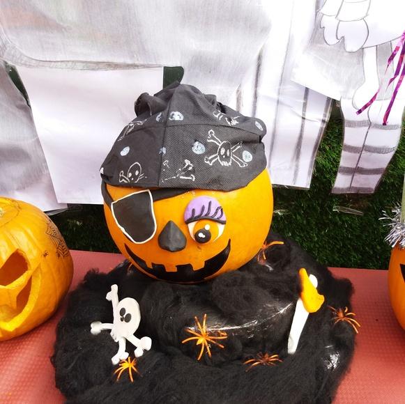 Calabaza pirata.
