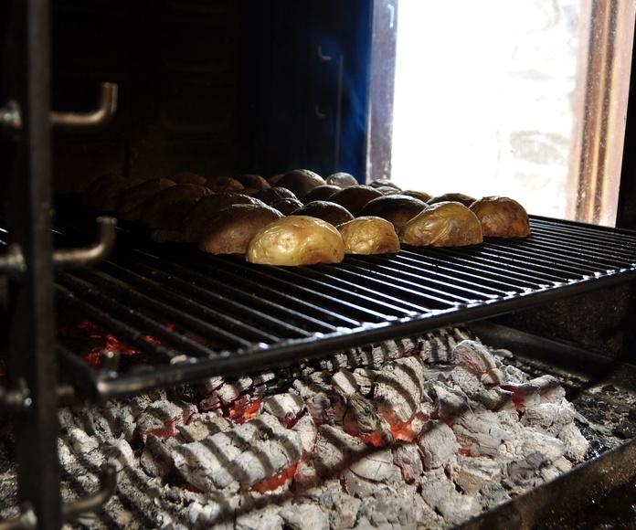 Patatas braseandose.