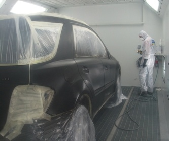 Lacado de faros: Taller de Astoria Cars S. L.
