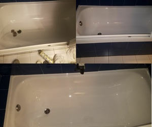 Restauración y esmaltado de bañeras. Antes y Después