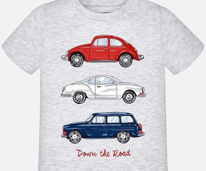 Camiseta vehiculos Mayoral