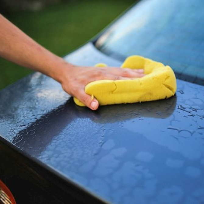 Limpia tu coche en cinco pasos