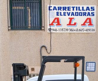 VENTA DE TODO TIPO DE BATERÍAS: Maquinaria de ocasión de Carretillas Elevadoras A.L.A., S.L.