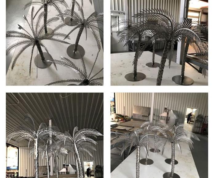 palmeras inox