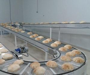 Fábrica de pan de pita libanés artesanal en Valencia