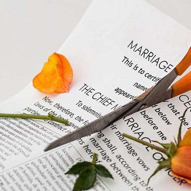Diferencias entre divorcio contencioso y amistoso