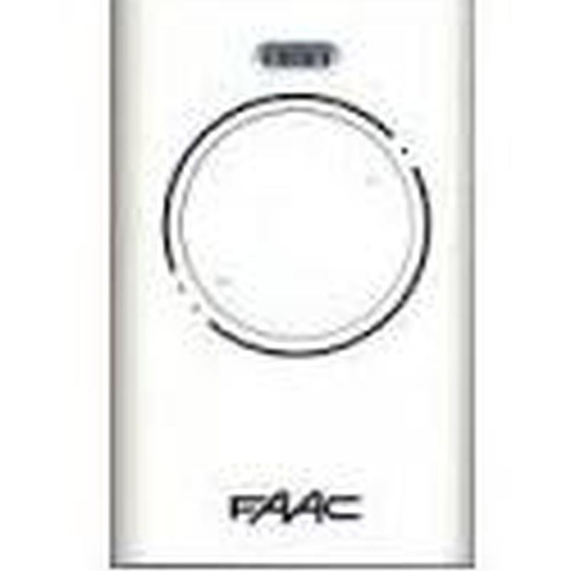 Mando Faac xt2 868slhlr: Productos y servicios de Cerrajería Segui
