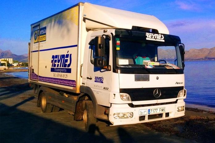 Transporte de mercancías: Servicios de Transportes Reynés