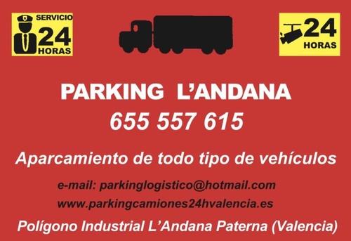 Fotos de Parking en Paterna | Parking Logístico