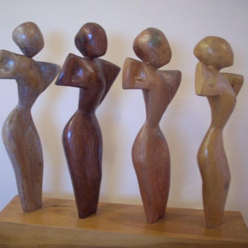 Esculturas madera, metal y mármoles: Servicios de Antonia Dávalos