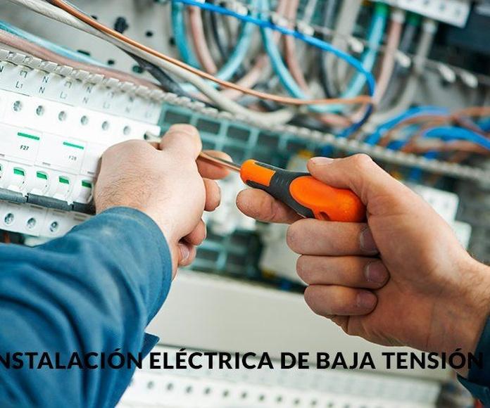 Instalación y mantenimiento de baja tensión: Servicios de Vrp Electric