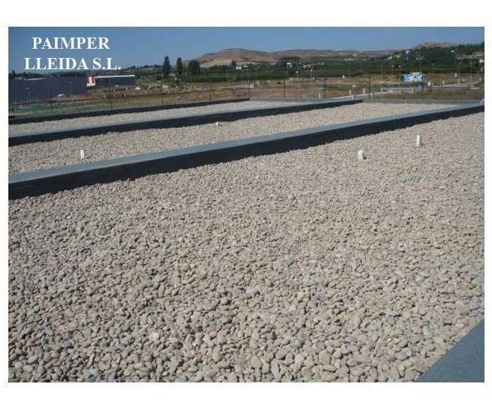 Impermeabilización de cubiertas no transitables: Catálogo de productos de Paimper Lleida, S.L.