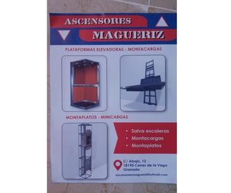 Plataformas salvaescaleras: Ascensores y Montacargas de ASCENSORES MAGUERIZ