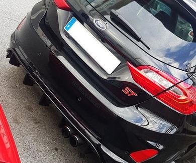 Ford Fiesta ST - añadidos carrocería