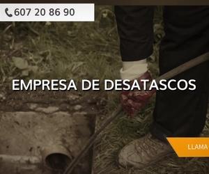 Empresas de desatascos en Teruel | Mantenimiento y Limpiezas Ortiz, S.L.