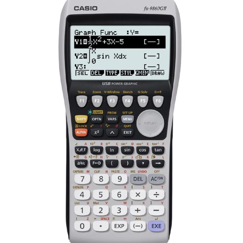 CASIO FX-9860GII: Productos y Servicios de Rosan