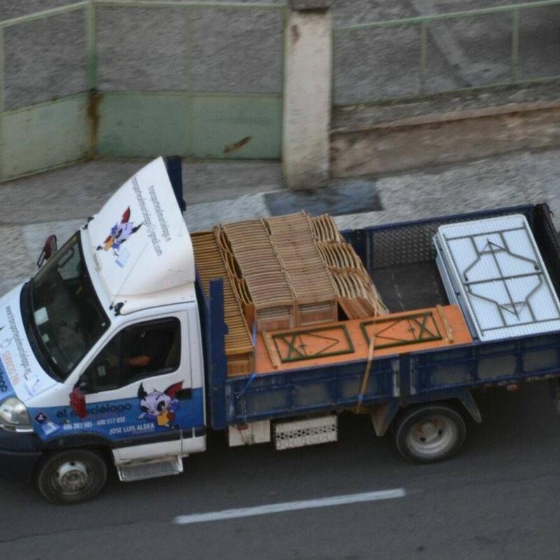 Transporte de áridos y materiales de construcción: Servicios de Transportes el murciélago