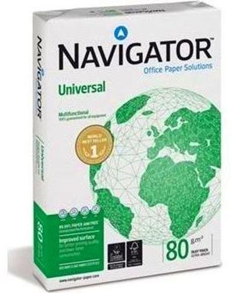 PAQUETE 500 A-4 80 gramos NAVIGATOR: Productos y servicios de Papelería Formatos