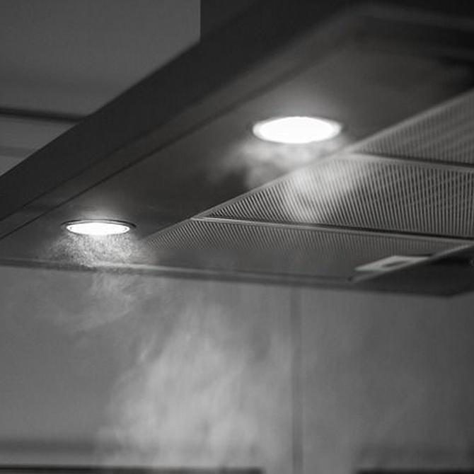 Cómo escoger la campana extractora de la cocina