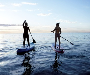 Paddle surf lessons
