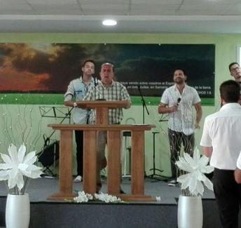 Iglesia evangélica en Logroño