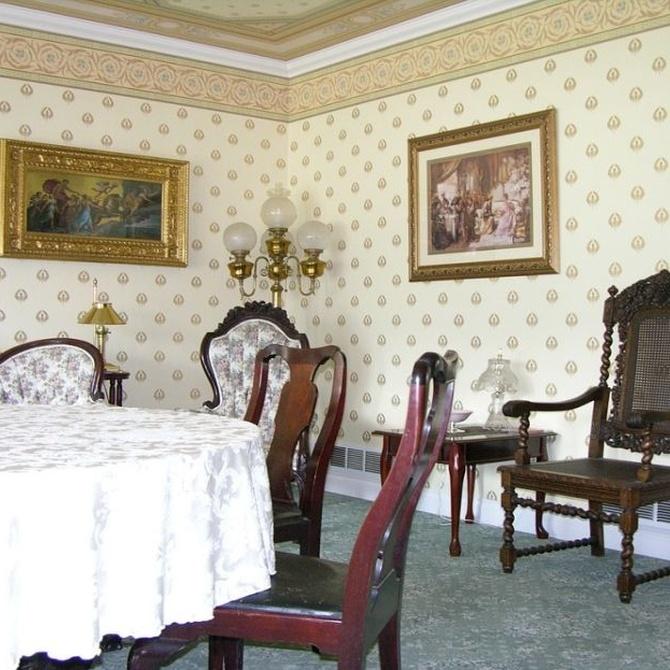 El empapelado en la decoración de interiores