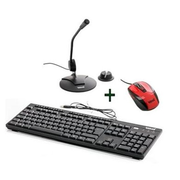 iggual Kit Teclado Mult USB+Ratón+Micro Sobremesa : Productos y Servicios de Stylepc