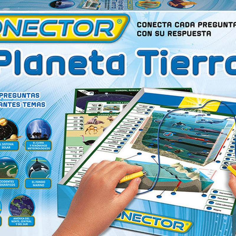 CONECTOR PLANETA TIERRA. EDUCA
