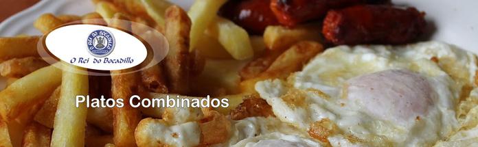Platos combinados: Menú de O Rei Do Bocadillo