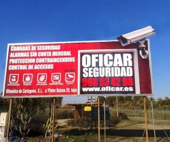 INCENDIOS: Productos y servicios de Ofimática de Cartagena