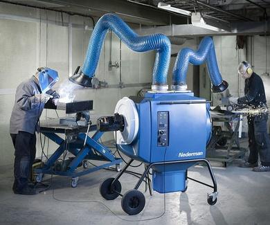 Seleccione la solución correcta para la extracción de humos de soldadura y polvo