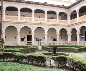 Patio interior Monasterio de Lupiana