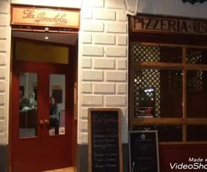 Pizzas caseras artesanas. Pizzería La Góndola